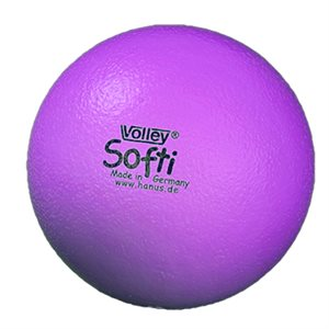 Ballon Volley® Softi en mousse, mauve