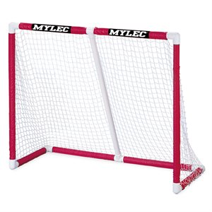 But de hockey pliable en PVC