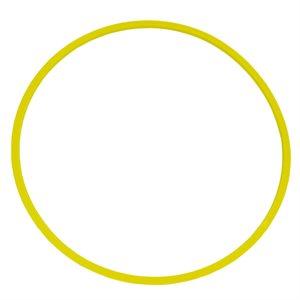 Cerceau plat strié, jaune