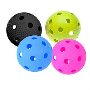 Balle trouée Salming, couleurs variées