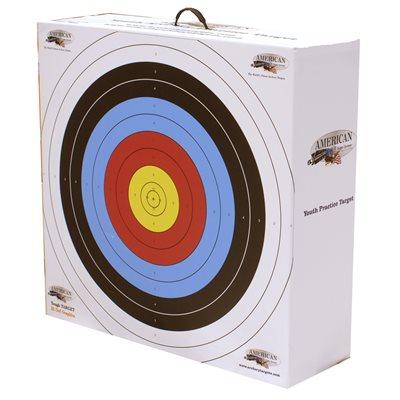 Cible de pratique de tir à l'arc