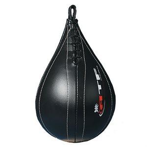 Ballon de vitesse en cuir noir