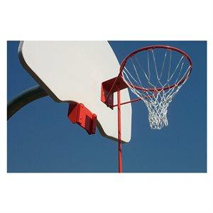 Panier basketball amovible / panneau éventail