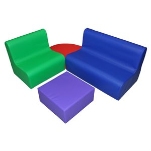 Ensemble de mobilier en mousse pour enfants