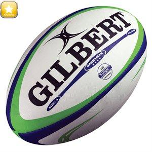 Ballon de rugby Barbarian en caoutchouc, #5