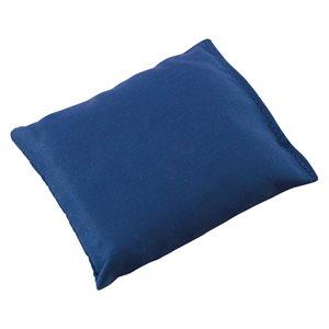 """Sac de fèves 4"""" x 5"""", bleu"""