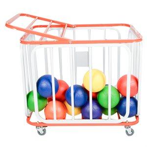 Cage à ballons en aluminium
