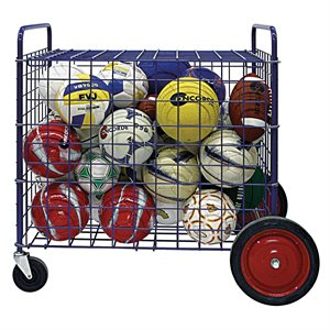 Chariot à ballons à grandes roues, cap.24 ballons