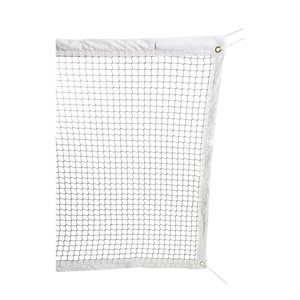 Filet de badminton championnat, corde acier