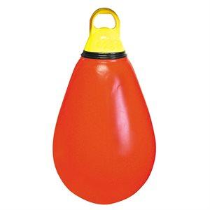 Ballon-poire en polymère, rouge