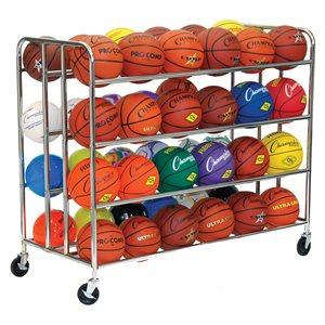 Chariot à ballons à 4 niveaux, cap.48 ballons