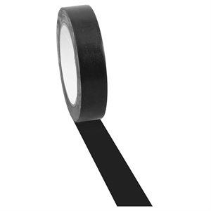 Ruban adhésif à plancher noir