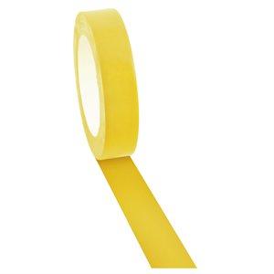 Ruban adhésif à plancher jaune