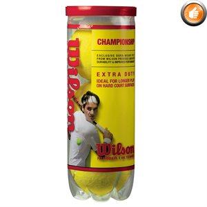 Ens. de 3 balles de tennis Wilson Championship