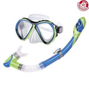 Ens. de plongée en apnée, masque et tuba