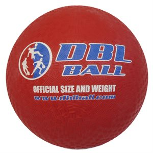 """Ballon officiel DBL, 8,5"""", rouge"""