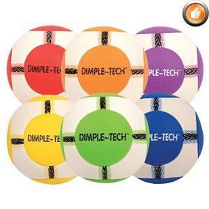 Ensemble de 6 ballons de jeu DIMPLE-TECH™