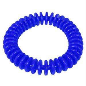 "Anneau flexible en vinyle, 6"", bleu"