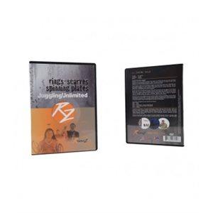 DVD de jonglerie, anneaux / foulards / disques