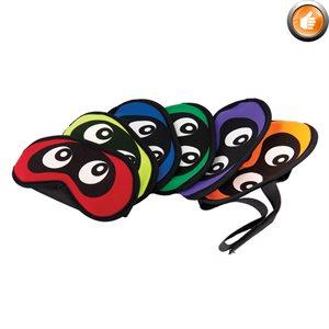 Ens. de 6 caches-yeux ajustables