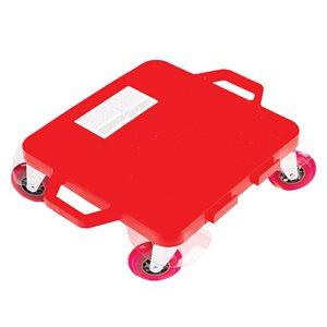 """Planche à roulettes 16"""", roues de 4"""", rouge"""