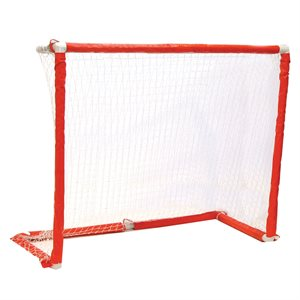 "But de hockey repliable avec filet 54""x44"""