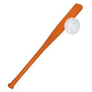 Bâton de baseball en plastique, coté plat