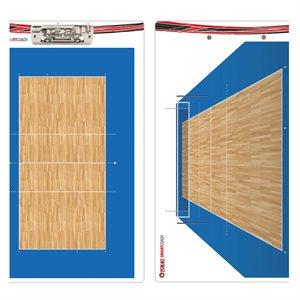 Tableau de jeu Smartcoach pro de volleyball