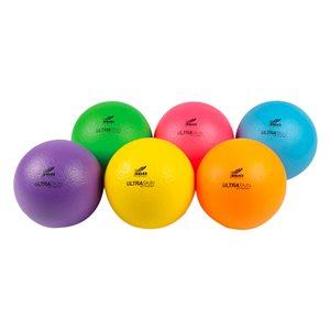 6 ballons de mousse Ultraskin fluo
