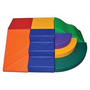 Ens. de 6 modules en mousse pour petite enfance