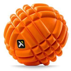 """Boule de massage GRID, 5"""", orange"""