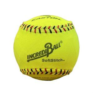 "Balle de softball sécuritaire, nylon, 12"" ,jaune"