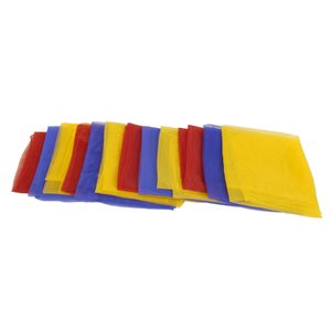 "12 foulards de jonglerie, 26"""