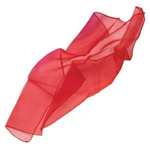 """Foulard de jonglerie, 26"""", rouge"""