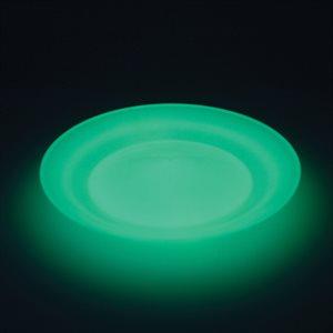 Assiette chinoise phosphorescente, 24 cm