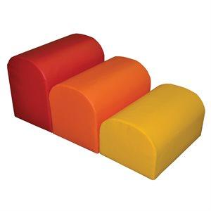 Ensemble de 3 modules boîtes aux lettres