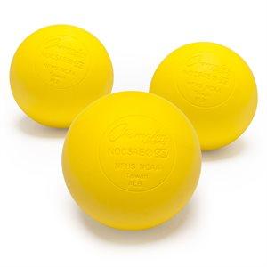 3 balles officielles de lacrosse