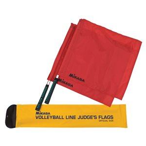 Drapeaux pour juges de ligne volleyball