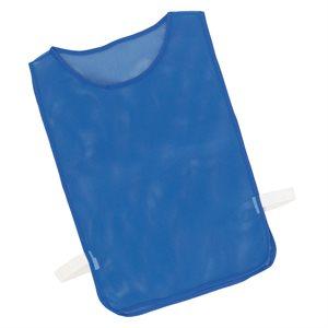 Dossard en filet avec élastiques, bleu