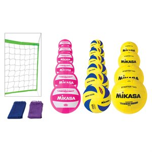 Ensemble de mini-volleyball JR