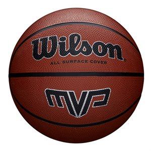 Ballon de basketball de caoutchouc MVP, #7