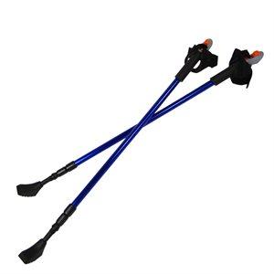 Paire de bâtons télescopiques Nordic Walking