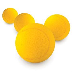 """Balle de tennis surdimensionnée en mousse, 3 ½"""""""