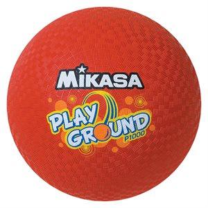 Ballon Mikasa pour cour de récréation, rouge