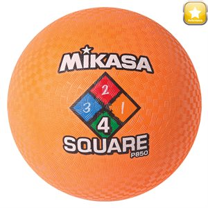 Ballon de jeu Four Square, orange