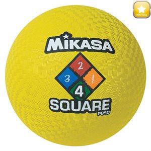 Ballon de jeu Four Square, jaune