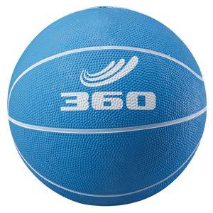 Ballon de mini-basket en caoutchouc, bleu