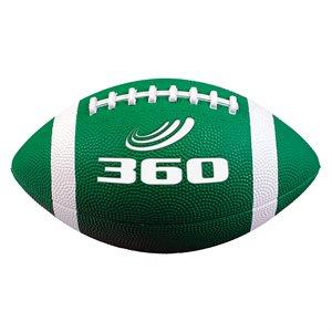 Ballon de football en caoutchouc souple, vert