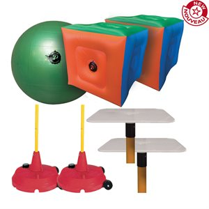Ensemble de Poull Ball officiel avec cubes gonflables