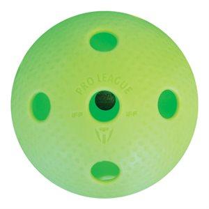 Balle floorball Precision PRO, vert